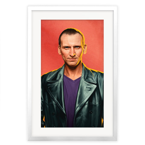 Limited Edition Ninth Doctor Portrait
