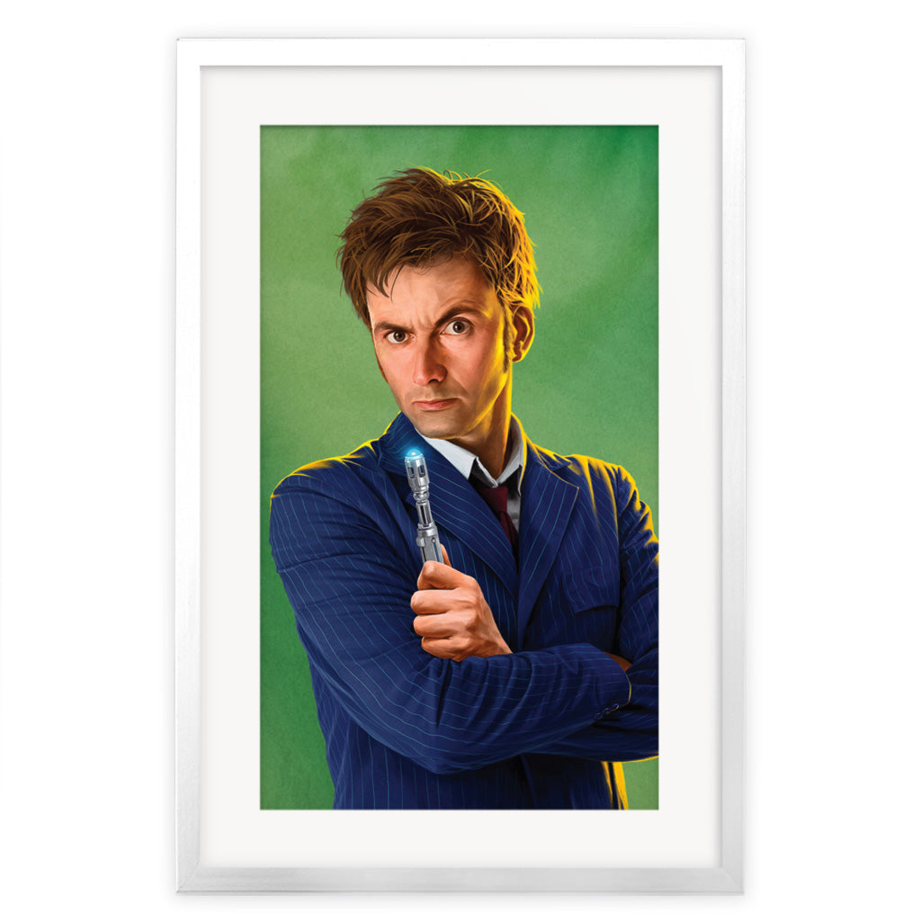 Limited Edition Tenth Doctor Portrait