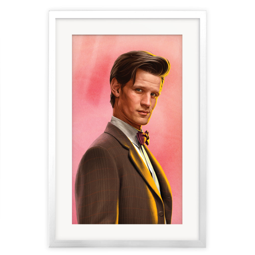 Limited Edition Eleventh Doctor Portrait