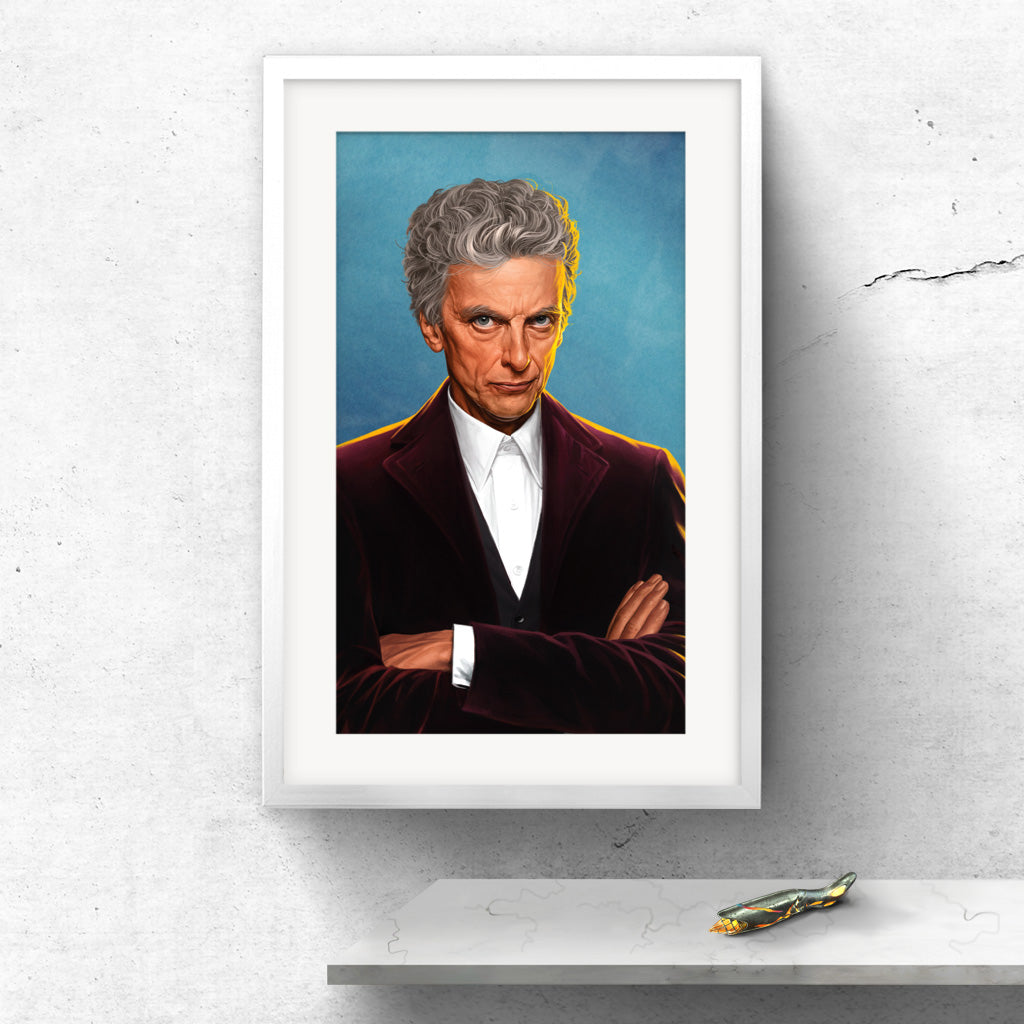 Limited Edition Twelfth Doctor Portrait
