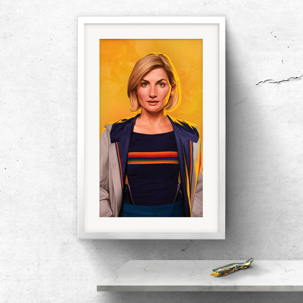Limited Edition Thirteeth Doctor Portrait