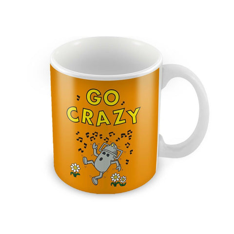 Mr.Men - Go Crazy Cyberman Mug