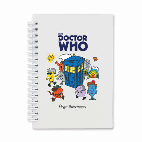 Mr. Men - Monsters & Tardis Notebook