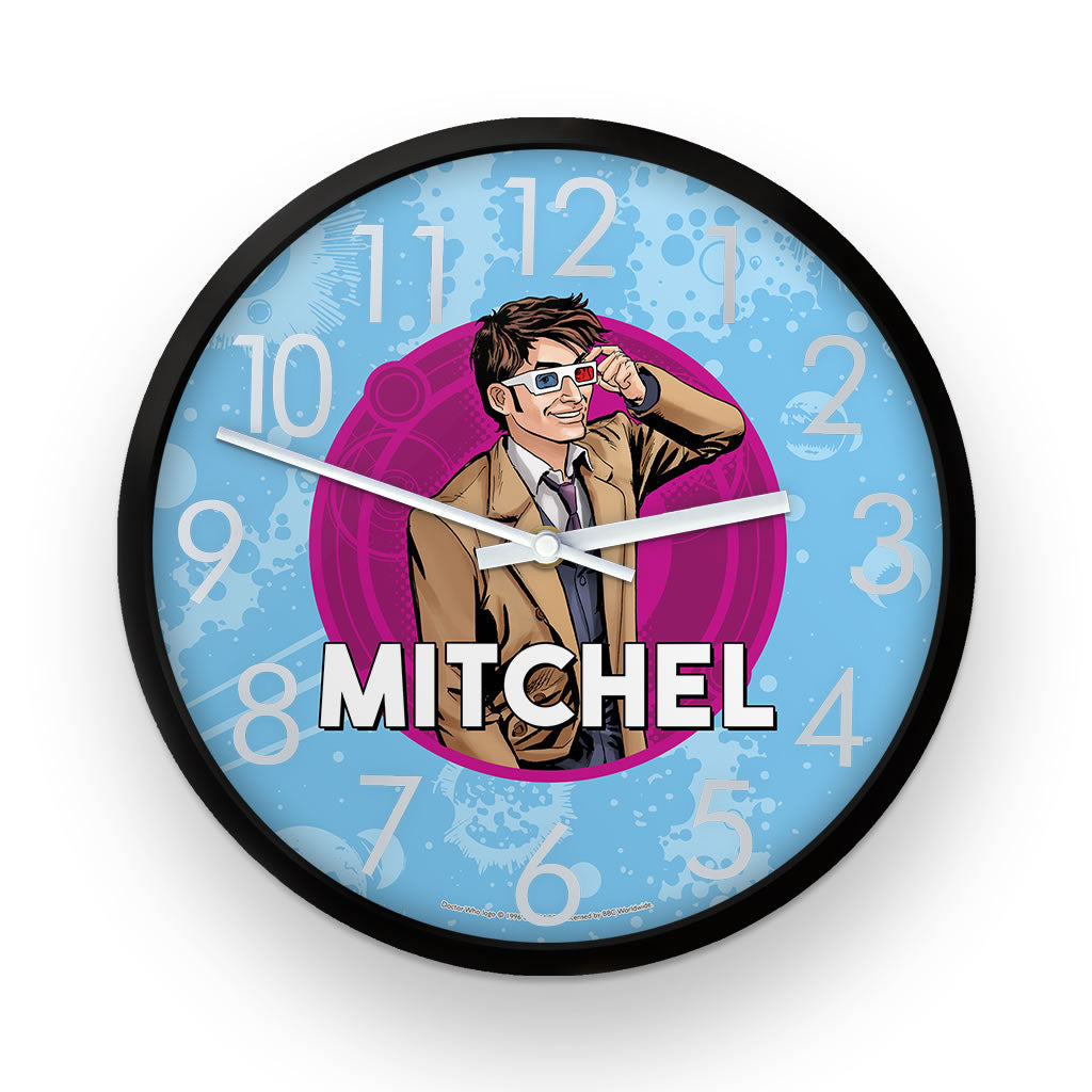 Tenth Doctor Personalised Clock