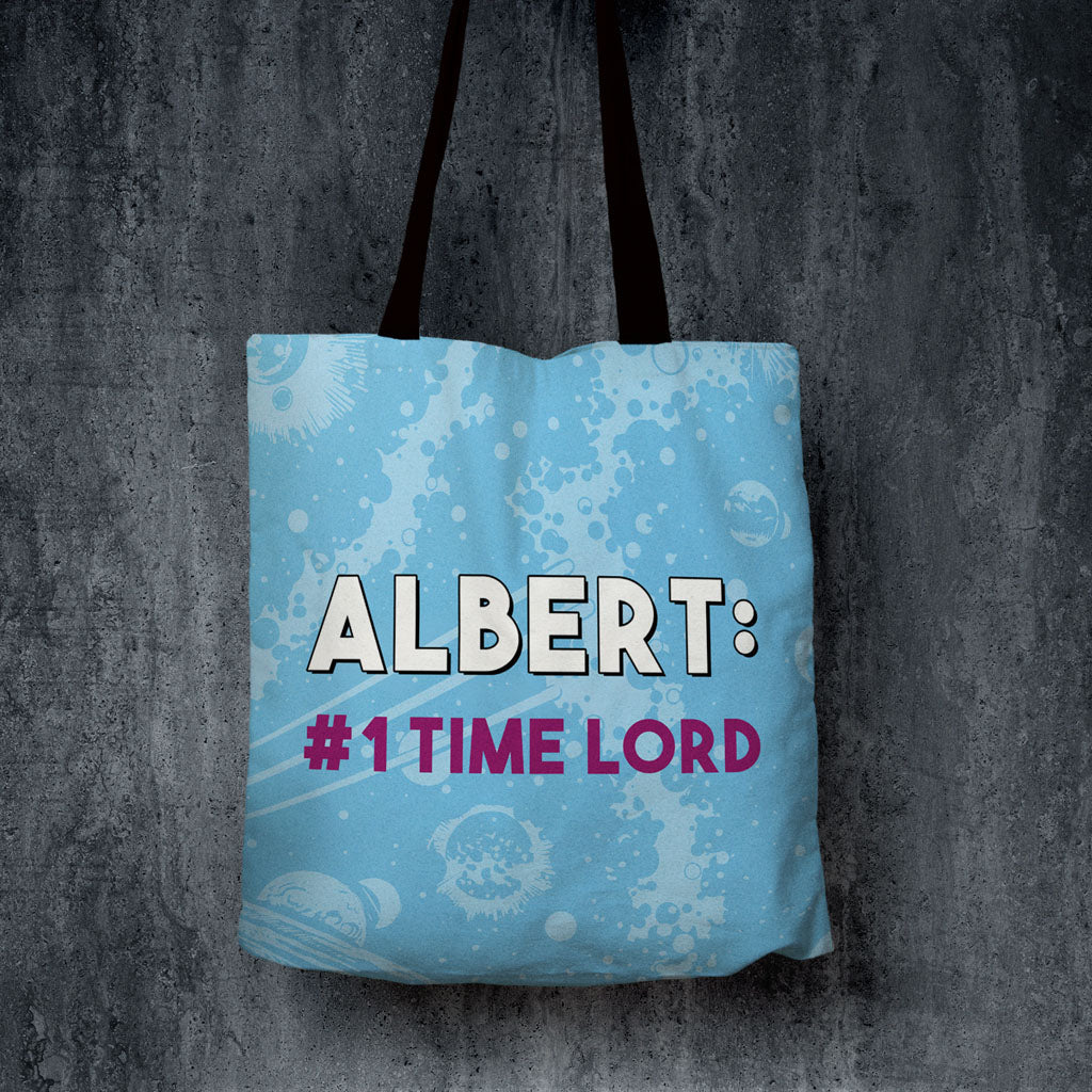Tenth Doctor Personalised Edge to Edge Tote (Lifestyle)