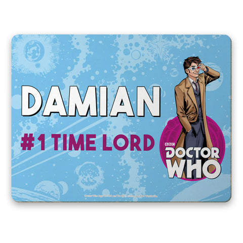 Tenth Doctor Personalised Placemat