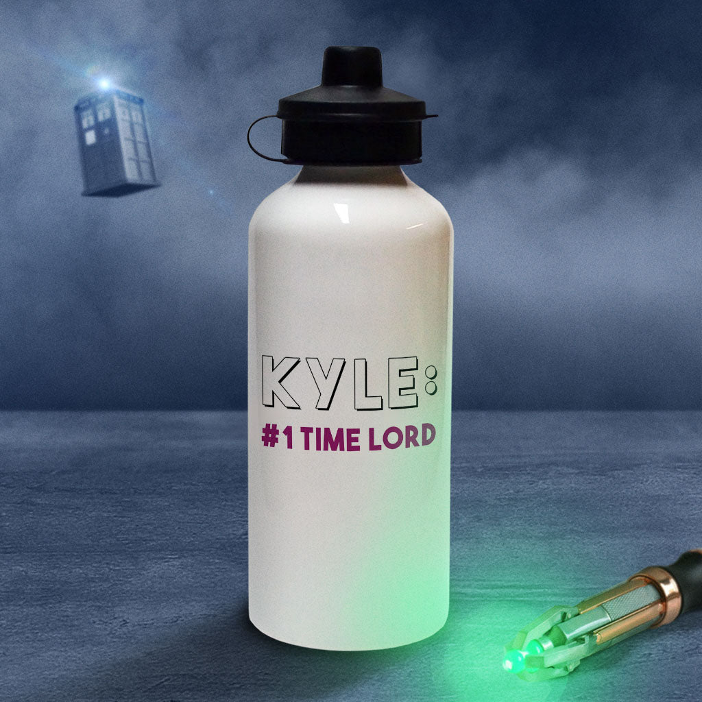 Tenth Doctor Personalised Water Bottle (Lifestyle)