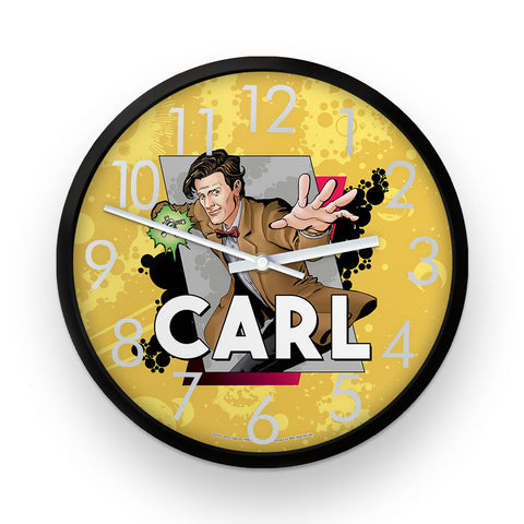 Eleventh Doctor Personalised Clock