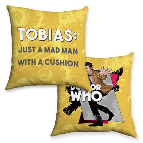 Eleventh Doctor Personalised Cushion