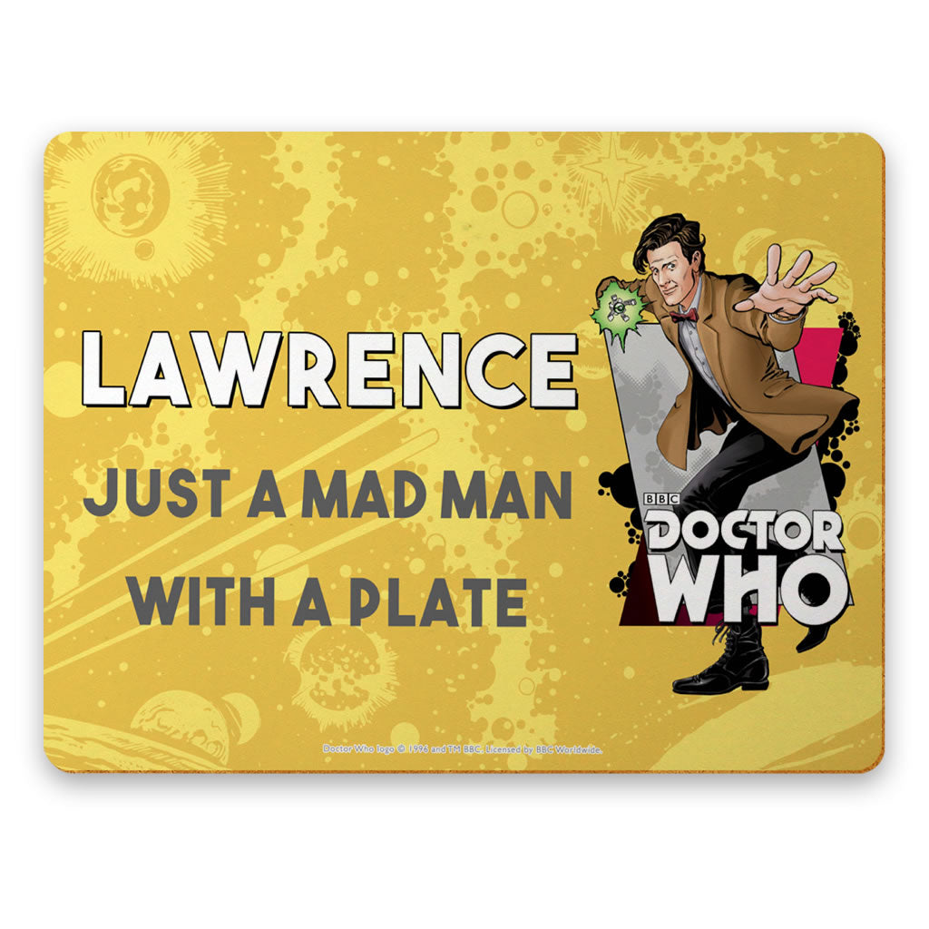 Eleventh Doctor Personalised Placemat
