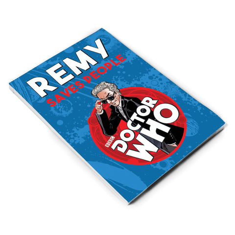 Twelfth Doctor Personalised A5 Notepad