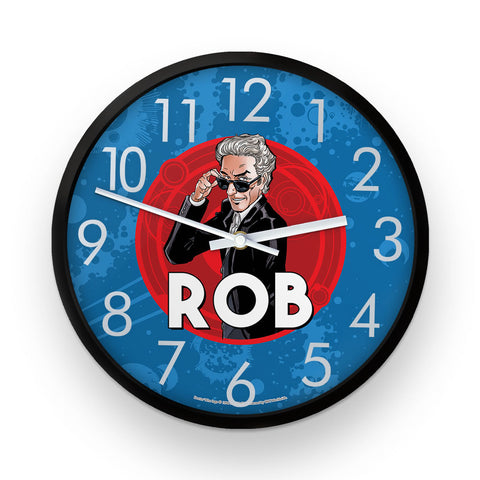 Twelfth Doctor Personalised Clock