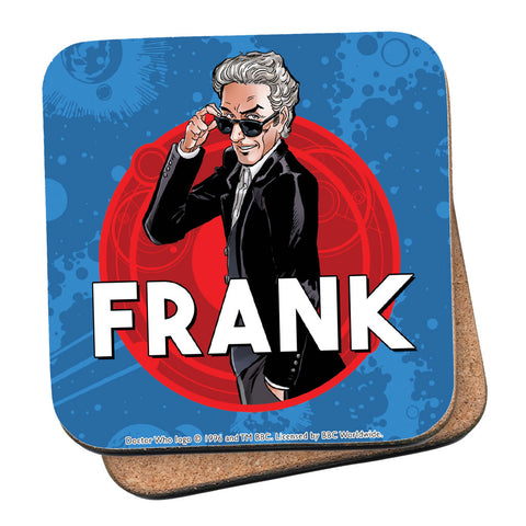 Twelfth Doctor Personalised Coaster