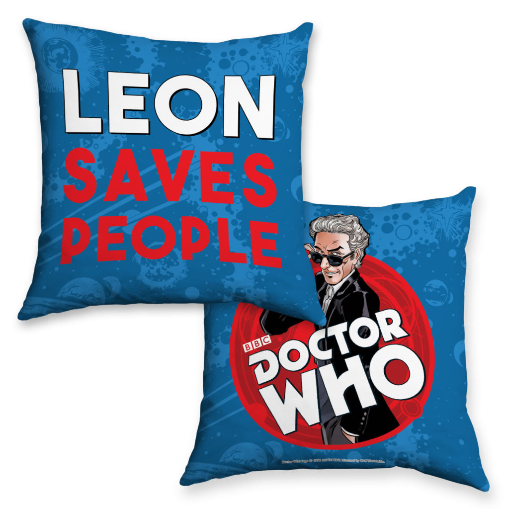 Twelfth Doctor Personalised Cushion