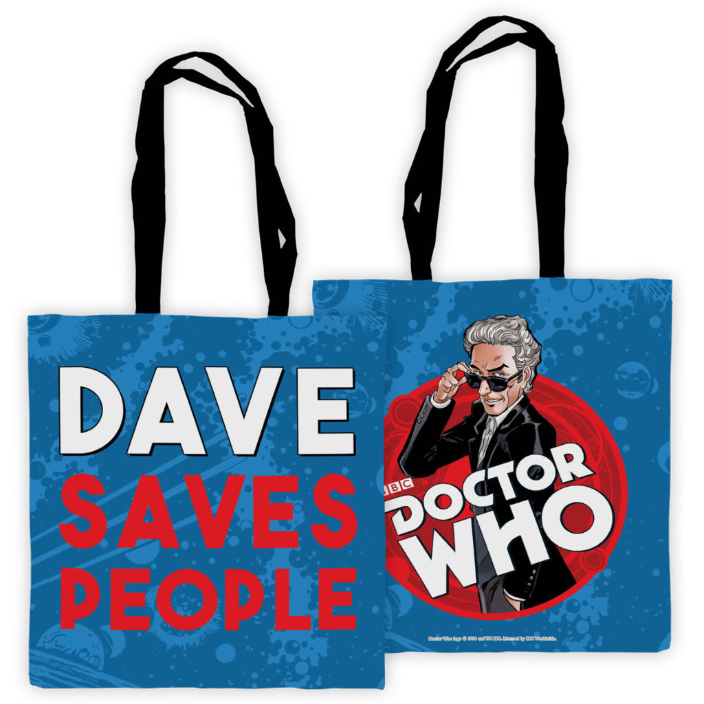 Twelfth Doctor Personalised Edge to Edge Tote