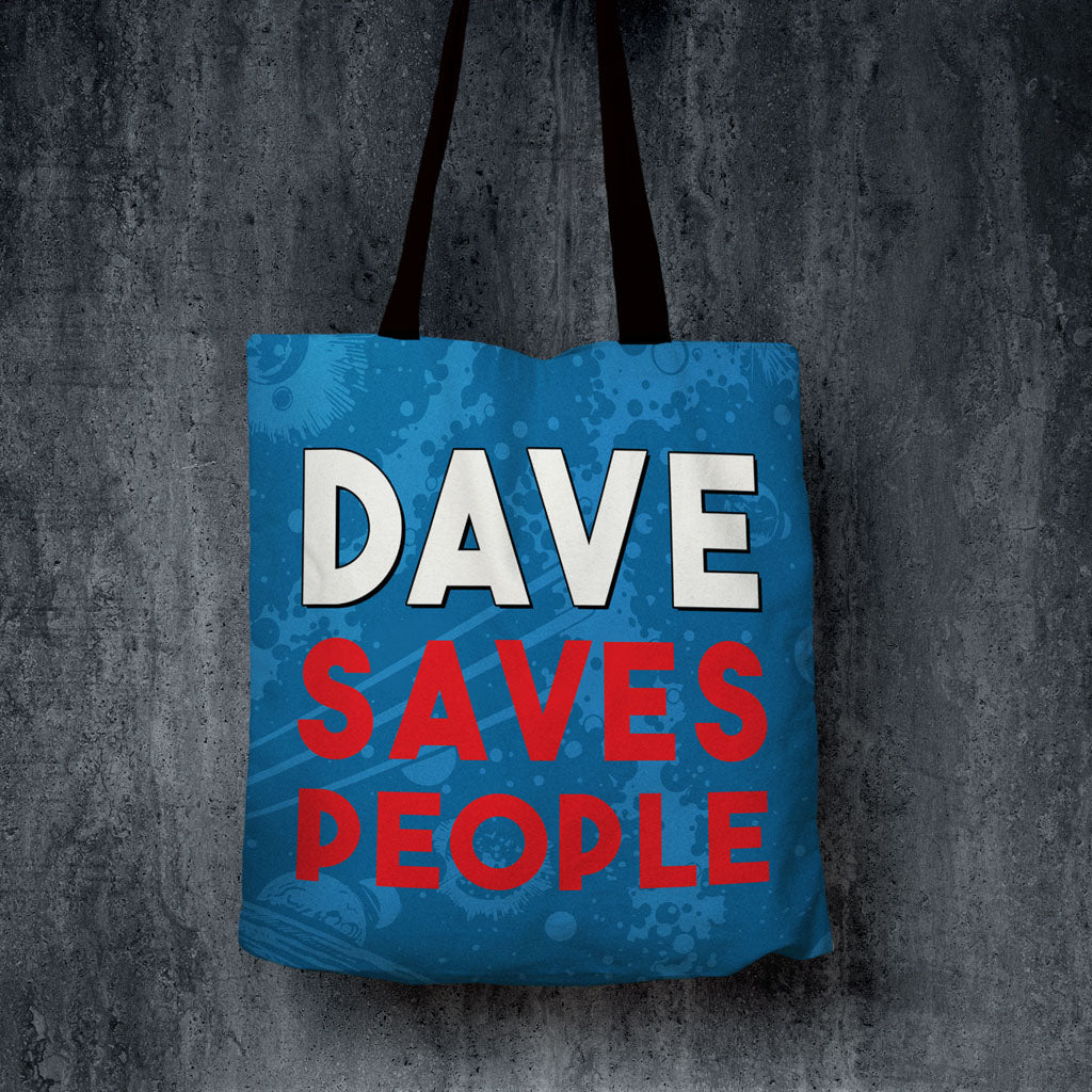 Twelfth Doctor Personalised Edge to Edge Tote (Lifestyle)