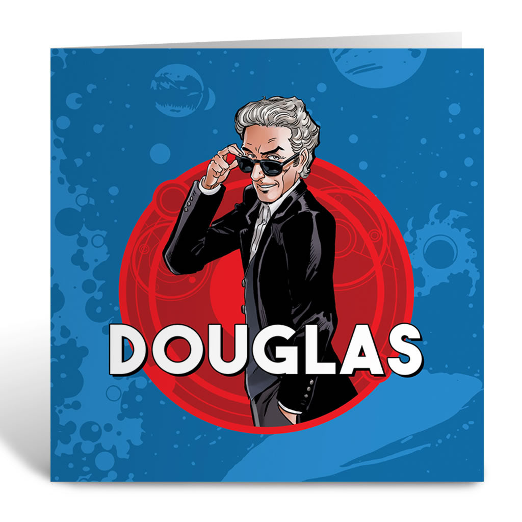 Twelfth Doctor Personalised Greeting Card