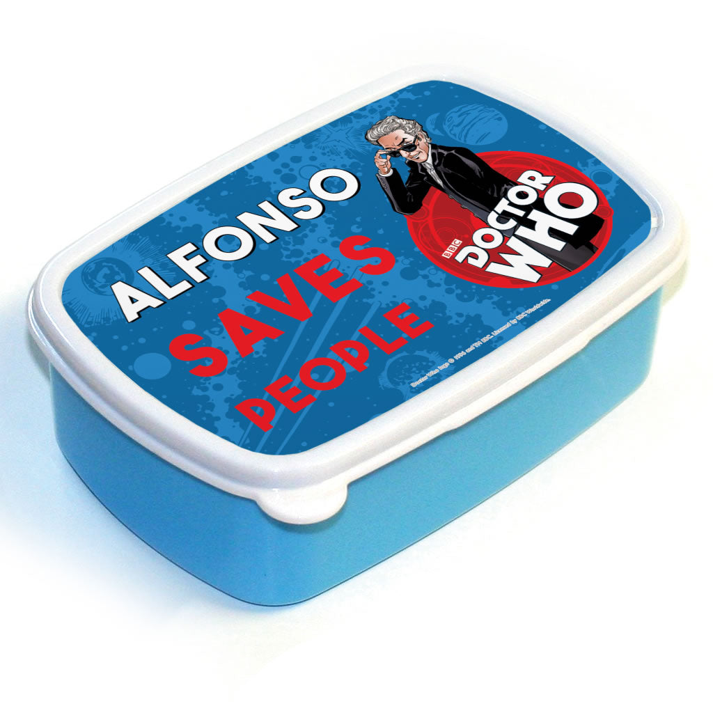 Twelfth Doctor Personalised Lunchbox