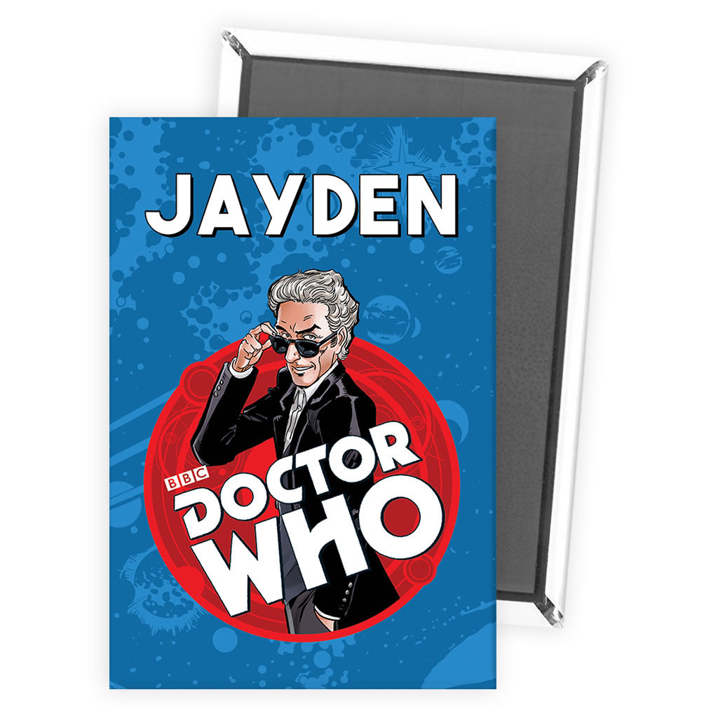 Twelfth Doctor Personalised Magnet