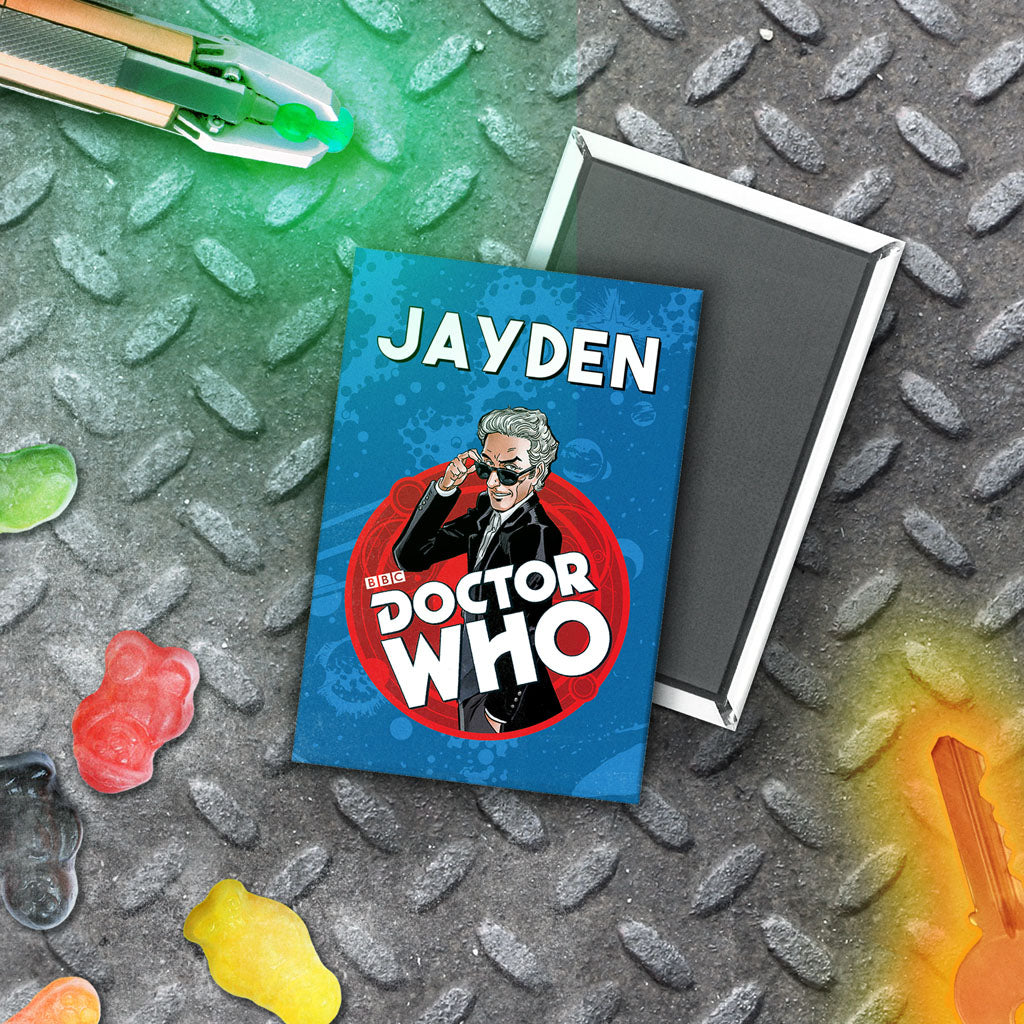 Twelfth Doctor Personalised Magnet (Lifestyle)