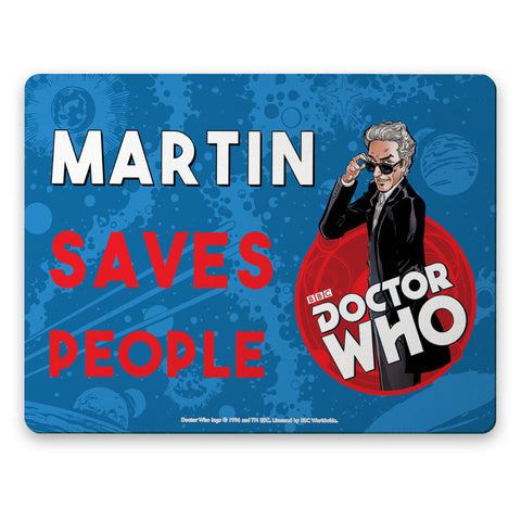 Twelfth Doctor Personalised Placemat