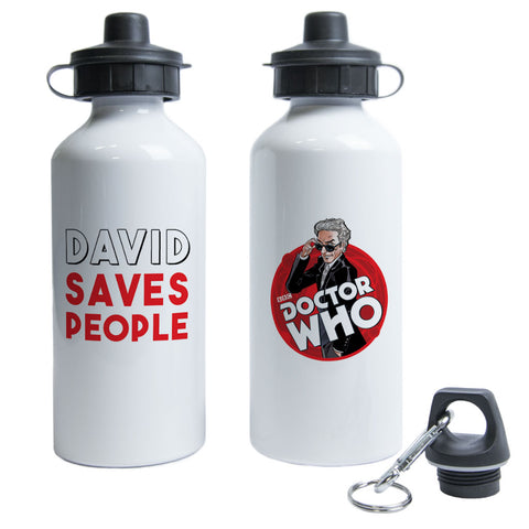 Twelfth Doctor Personalised Water Bottle