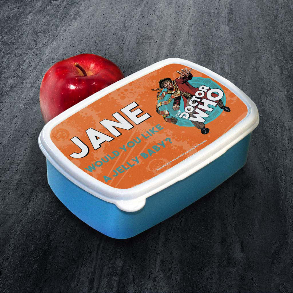 Fourth Doctor Personalised Lunchbox (Lifestyle)