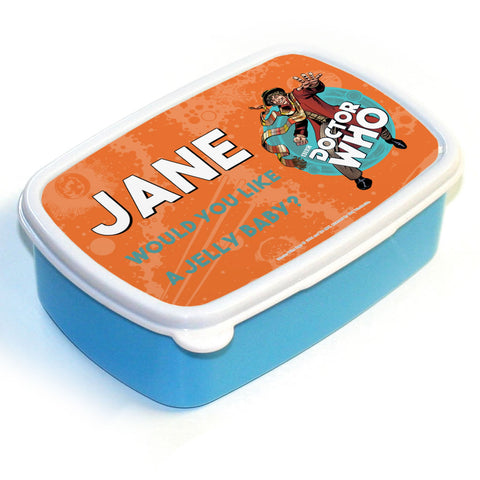 Fourth Doctor Personalised Lunchbox