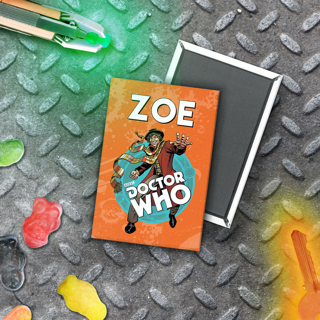 Fourth Doctor Personalised Magnet (Lifestyle)