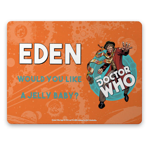 Fourth Doctor Personalised Placemat
