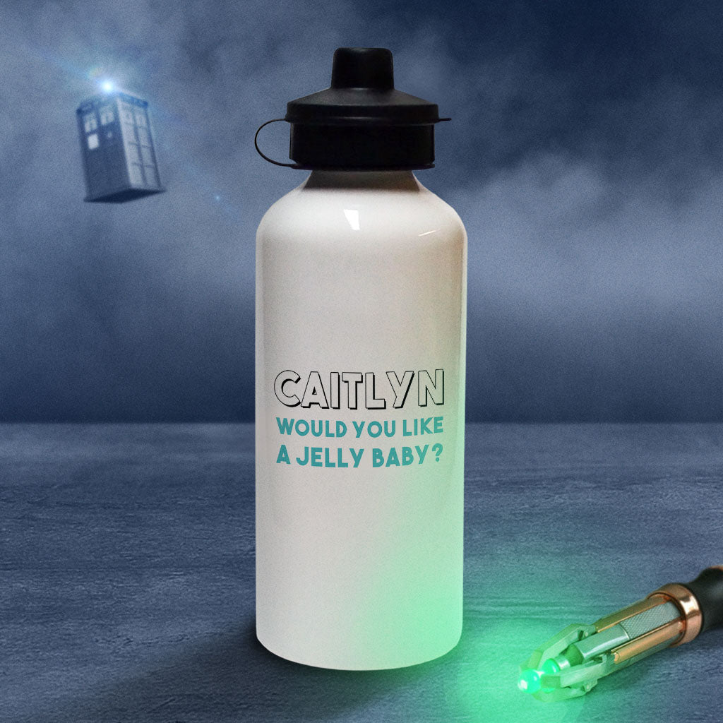 Fourth Doctor Personalised Water Bottle (Lifestyle)