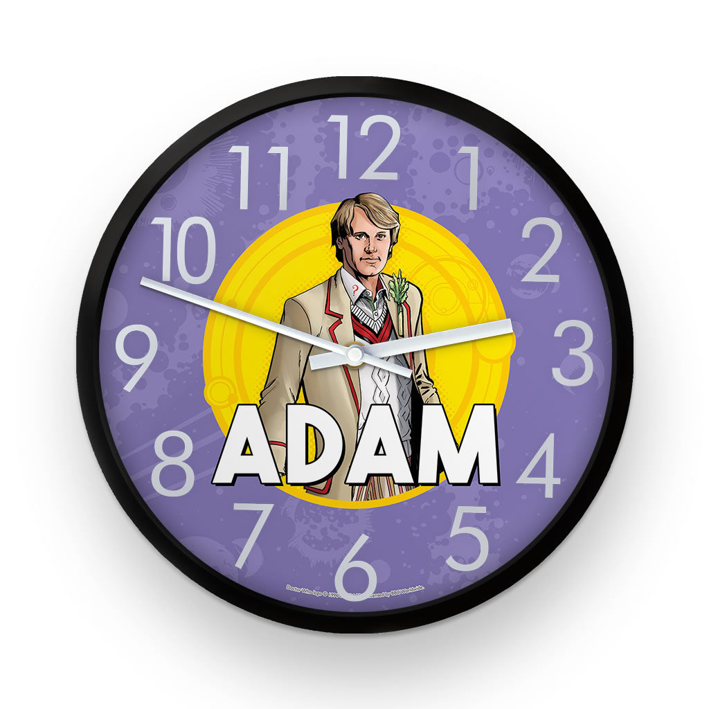 Fifth Doctor Personalised Clock
