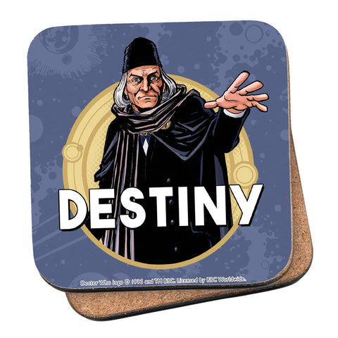 First Doctor Personalised Coaster