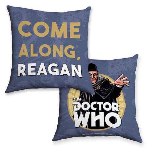 First Doctor Personalised Cushion