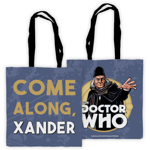 First Doctor Personalised Edge to Edge Tote