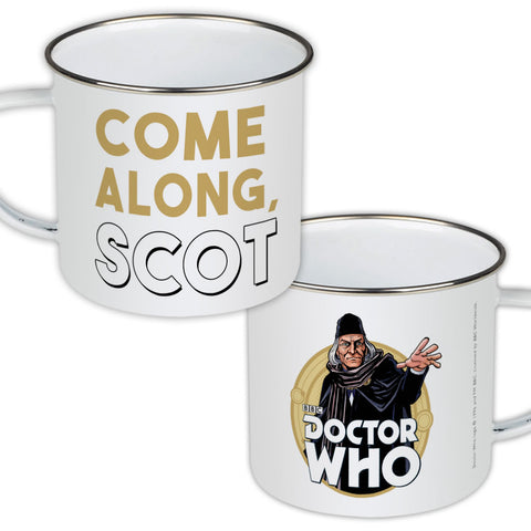 First Doctor Personalised Enamel Mug