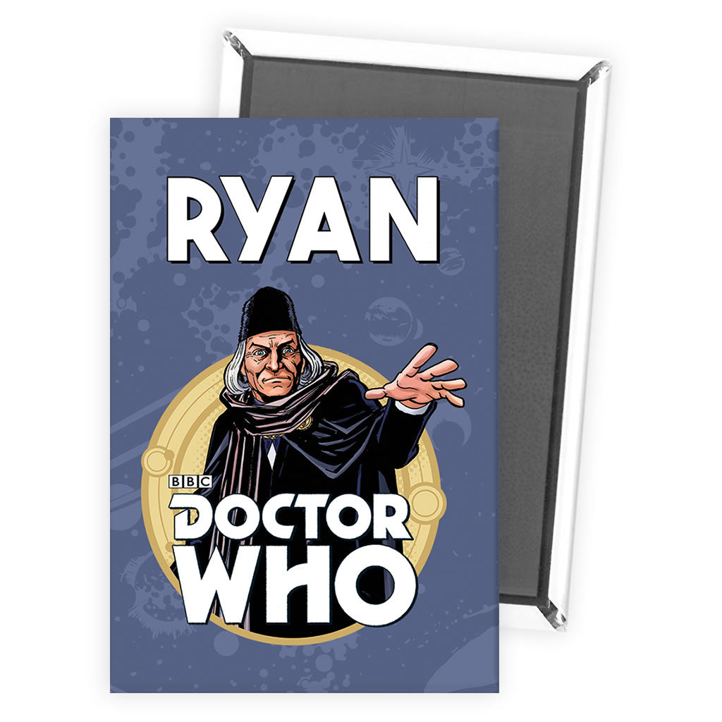 First Doctor Personalised Magnet