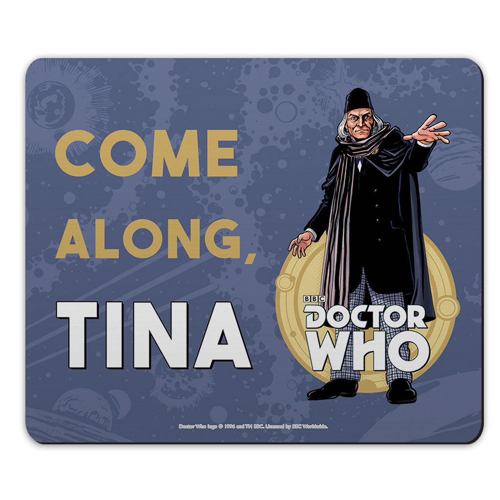 First Doctor Personalised Mousemat