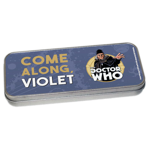 First Doctor Personalised Pencil Tin