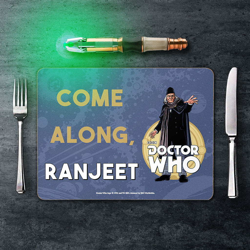 First Doctor Personalised Placemat (Lifestyle)