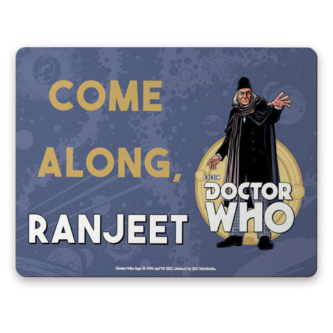 First Doctor Personalised Placemat
