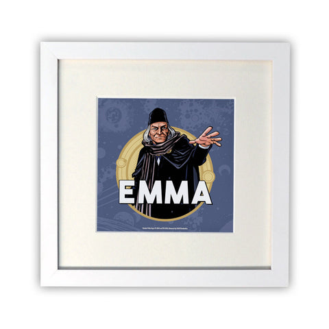 First Doctor Personalised Square White Framed Print