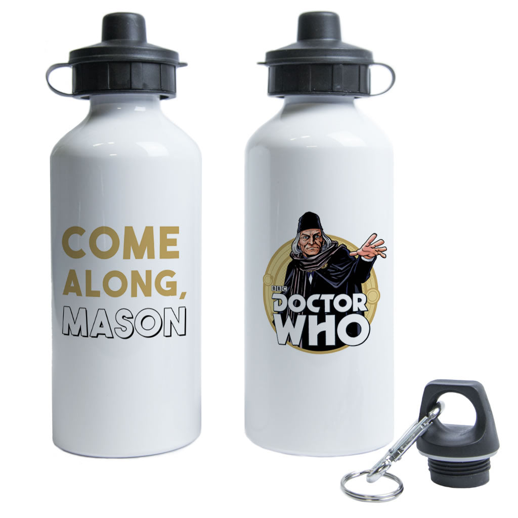 First Doctor Personalised Water Bottle