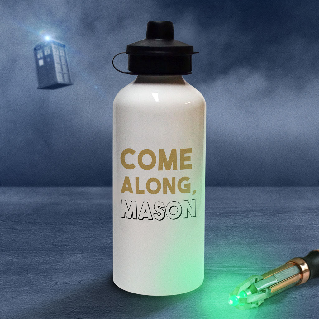 First Doctor Personalised Water Bottle (Lifestyle)