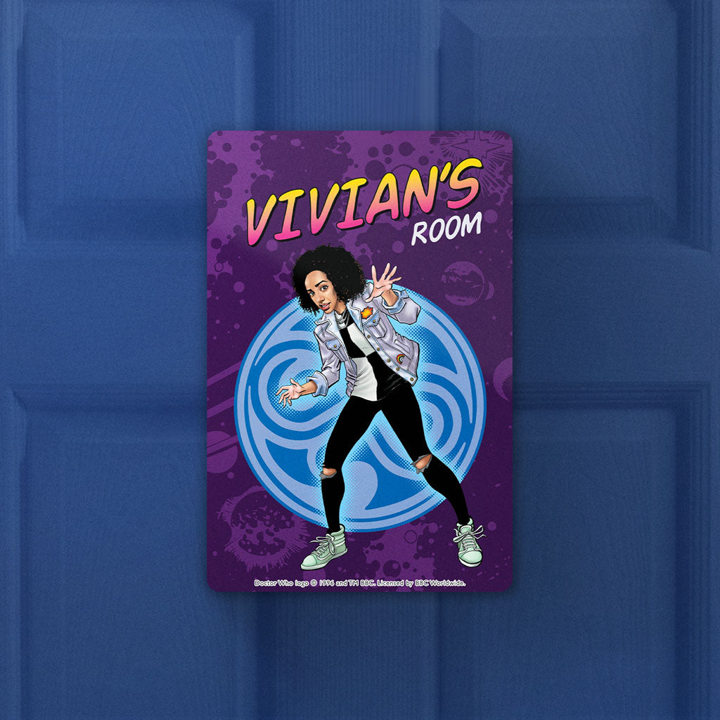 Bill Potts Personalised Door Plaque (Lifestyle)