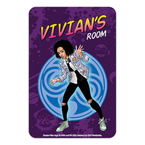 Bill Potts Personalised Door Plaque
