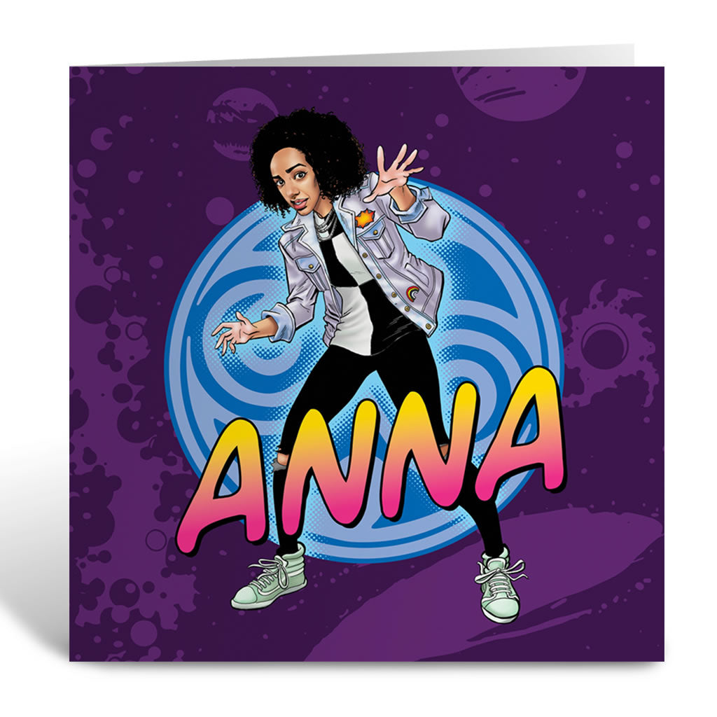 Bill Potts Personalised Greeting Card