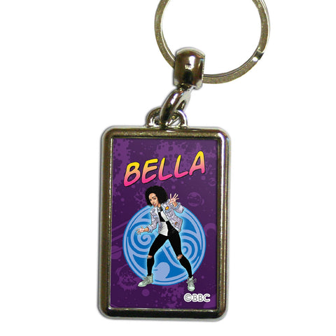 Bill Potts Personalised Metal Keyring