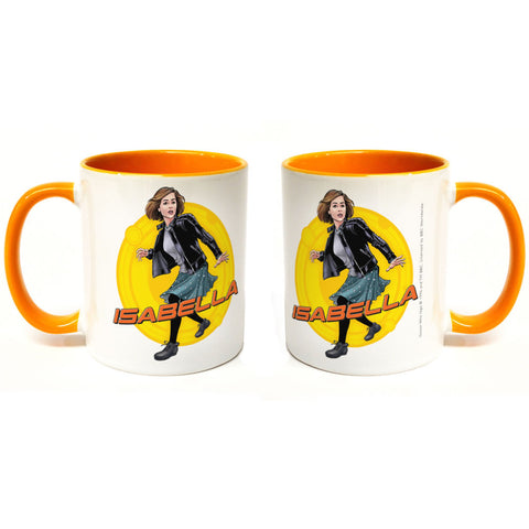 Clara Oswald Personalised Colour Insert Mug