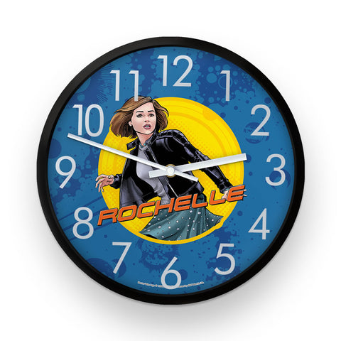 Clara Oswald Personalised Clock